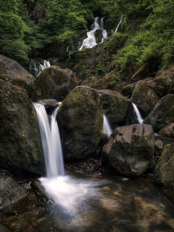 Torc waterfall, Killarney National Park, Kerry, Ireland